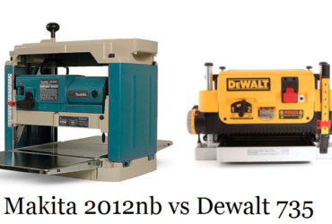 Makita 2012nb vs Dewalt 735